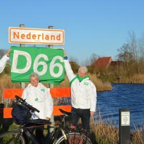Fietstocht D66