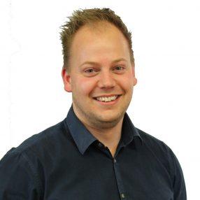 Portretfoto van Thom de Vries