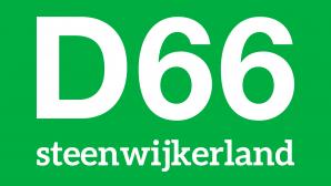Het logo van D66 Steenwijkerland.