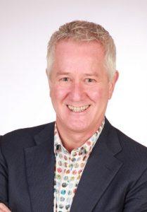 Portretfoto van Wybren Bakker, fractievoorzitter D66 Overijssel.