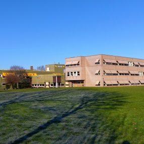 De locatie van het Voortgezet Onderwijs in Steenwjik.